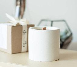 Svietidlá a sviečky - Albert White - sójová sviečka - 11298171_