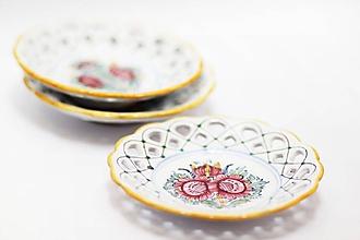 Nádoby - Farebný tanierik - 11298579_