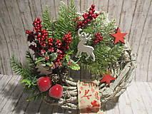 Dekorácie - Vianočný veniec - 11300940_