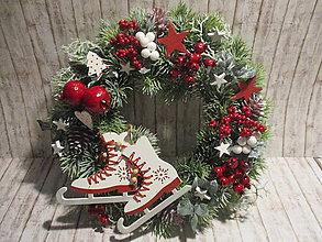 Dekorácie - Vianočný veniec - 11300997_