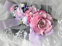 Opasky - Kvetinový opasok - 11299398_