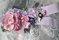 Opasky - Kvetinový opasok - 11299399_