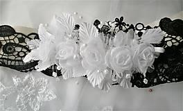 Opasky - Kvetinový opasok - 11299401_
