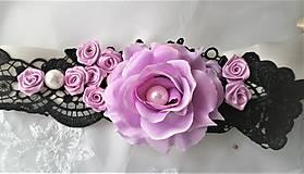 Opasky - Kvetinový opasok - 11299403_