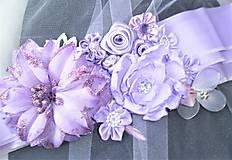 Opasky - Kvetinový opasok - 11299405_