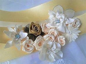 Opasky - Kvetinový opasok - 11299680_