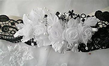 Opasky - Kvetinový opasok - 11299720_