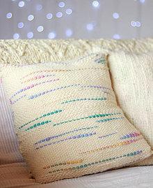 Úžitkový textil - *UNICORN* Ručne tkaná obliečka na vankúš, merino vlna - 11300214_