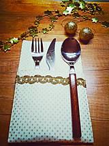 Úžitkový textil - Vrecúška na príbor:-) - 11301358_