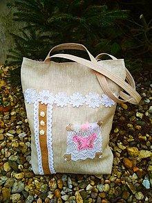 """Veľké tašky - L'anová taška """" SHABBY CHIC"""" - 11301151_"""