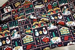 Úžitkový textil - Vianoce. Rozprávkový vianočný obrus. - 11298601_