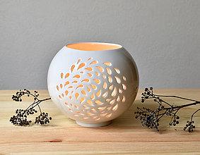 Svietidlá a sviečky - (Pro)svítání kapky - 11300092_