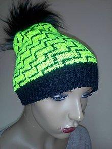 Čiapky - Pletené čiapky - 11300822_