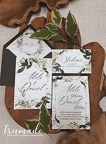 Papiernictvo - Svadobné oznámenia - Arboretum - 11300543_