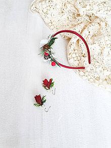 Náušnice - Kvetinové ,,naušničky,, - 11301514_