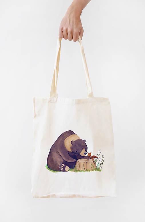 Plátená taška- Priateľstvo