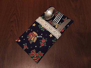 Úžitkový textil - Vianočné prestieranie a vianočný obrus s bavlnenou čipkou - 11301375_