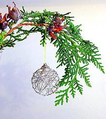 Dekorácie - Magický vianočný kruh II. - 11298159_