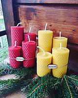 Svietidlá a sviečky - Sviečky na adventný veniec - 11298608_