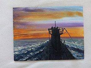 Obrázky - Ponorka pri západe slnka - 11299657_