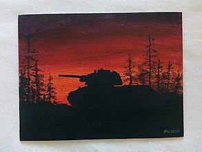 Obrázky - Tank v lese - 11299669_