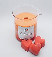 Svietidlá a sviečky - Elixír lásky - sójová sviečka v kadičke - 11300319_