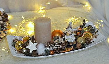 Dekorácie - Vianočná dekorácia 22. - 11301636_