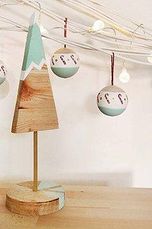Dekorácie - Drevený stromček - 11300867_