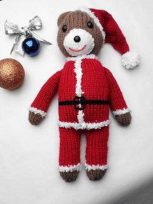 Hračky - Vianočný macko - 11299296_