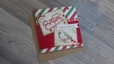 Papiernictvo - ...pohľadnica vianočná... - 11298293_