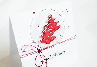 """Papiernictvo - Magické Vianoce """" stromčeky """" - 11298161_"""
