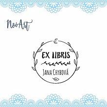 Nezaradené - Pečiatka EX LIBRIS lístky - 11305042_