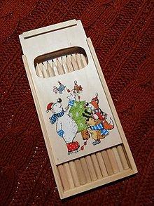Hračky - Vianočné farbičky - 11304052_