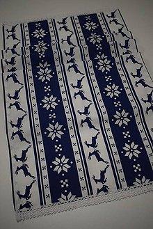 Úžitkový textil - VÁNOČNÍ STŘEDOVÝ BĚHOUN - 11303656_