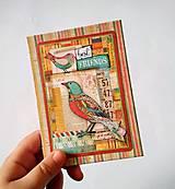 Papiernictvo - Fotoalbum * leporelo na 14 foto 10*15 - 11302268_
