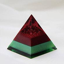 Dekorácie - Sopečná pyramída - 11303271_
