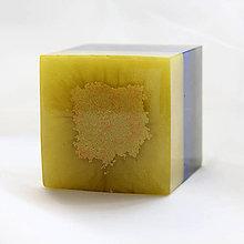 Dekorácie - Kocka trikolóra - 11304271_