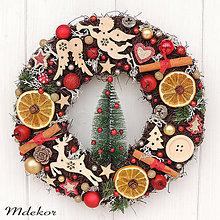 Dekorácie - Vianočný veniec - 11303869_