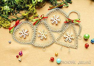 Dekorácie - Vianočné dekorácie, sada - 11302799_