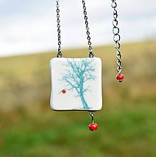 Náhrdelníky - Jablko nepadá daleko od stromu...  - 11304492_