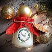 Svietidlá a sviečky - Vonná sójová sviečka - Vianoce 200g - 11303349_