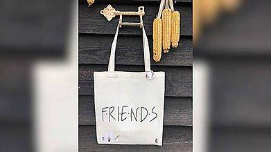 Iné tašky - ♥ Plátená, ručne maľovaná taška ♥ - 11302794_