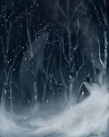 Obrazy - zimné radovánky  - 11303638_
