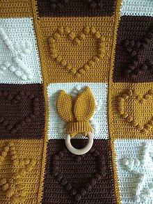 Textil - Háčkovaná deka - 11303001_