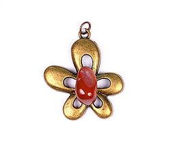Iné šperky - Karneol p276 - 11304203_