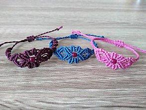 Náramky - Makramé náramky pre malé slečny - 11302348_