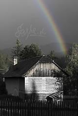 Fotografie - Dúha za plotom - 11304497_