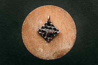 Náhrdelníky - Prívesok včela II. - 11304806_