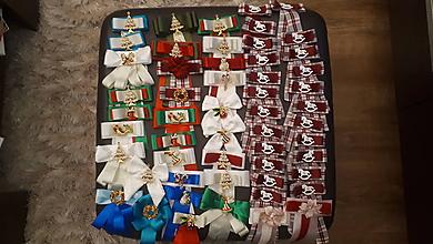 Iné doplnky - Doplnok na bluzku s vianoc.motivom - 11303367_