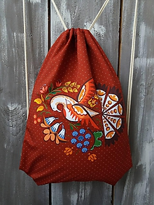 Batohy - Vak s Vajnorským ornamentom zo Slovenska - 11303856_